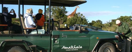 Day Safari Trips Hlosi Game Lodge