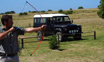 Hlosi Game Lodge Activities Archery