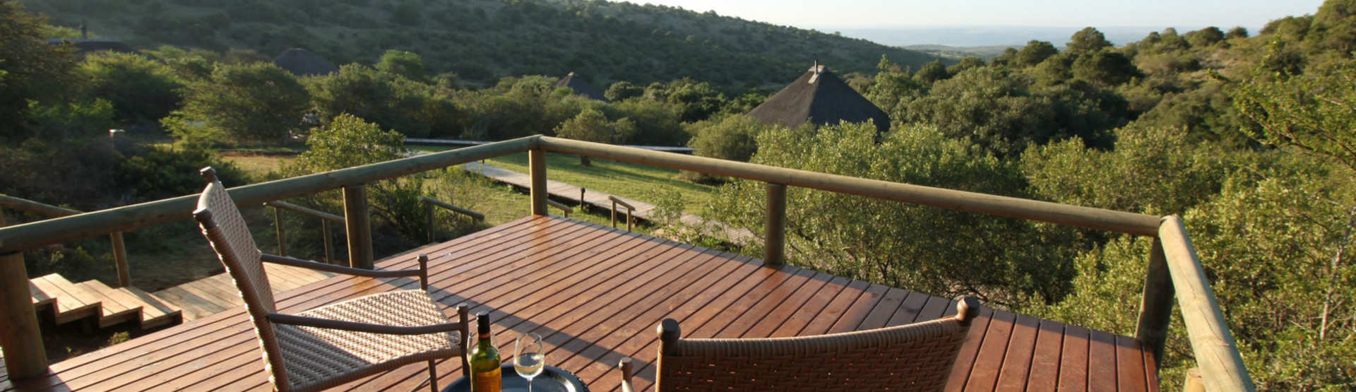 Hlosi Game Lodge Amakhala Game Reserve Accommodation Tent View